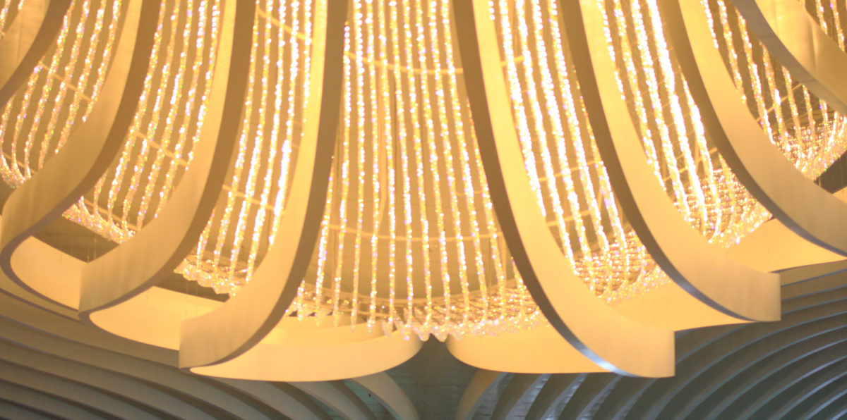Marina Bay Sands Chandelier