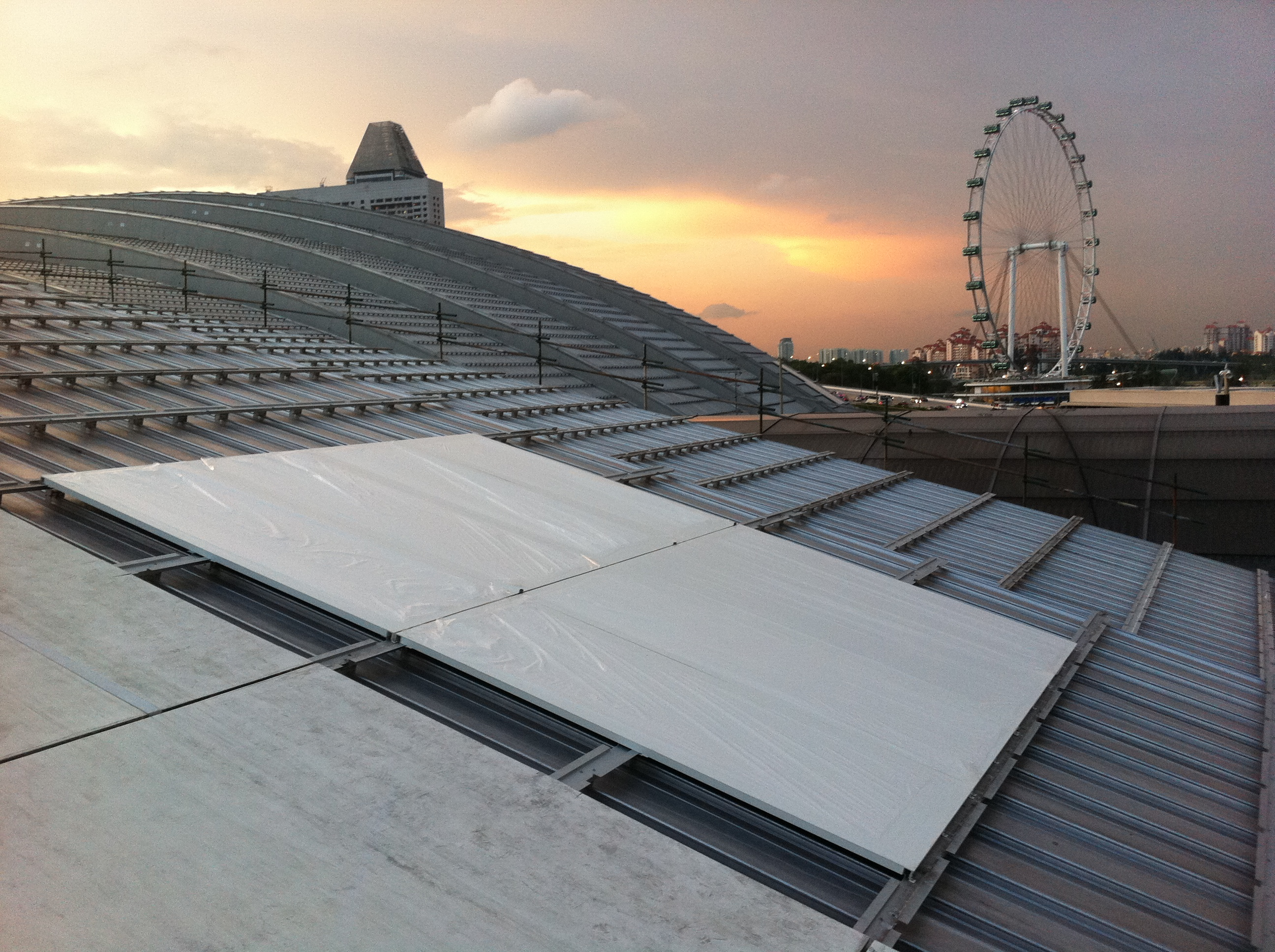 Marina Bay Sands Casino And Resort Roof Cladding Craft