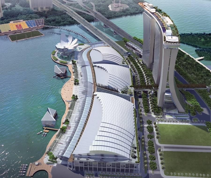 Marina Bay Sands Casino & Resort Roof Cladding