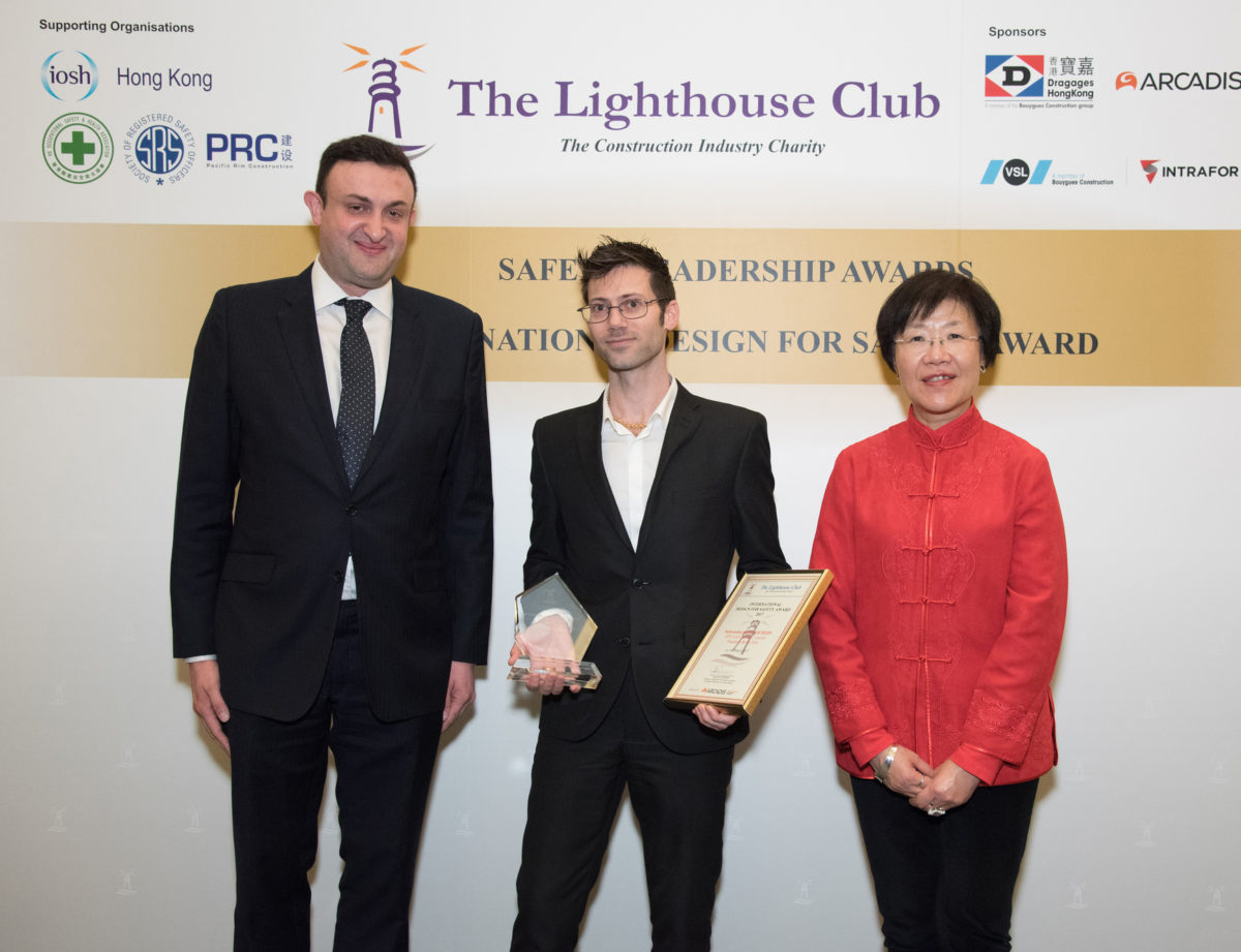 First Prize Awarded to CRAFT's Siebrandus Wichers, International Design for Safety Competition