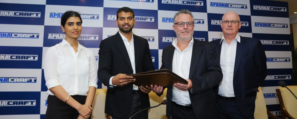 Aparna Enterprises Ltd., joins hands with Craft Holdings Ltd., Hong Kong